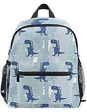Cute Dinosaur Toddler Bag for Boys Girls,Kid's Backpack Schoolbag Kindergarten Preschool Nursery Travel Bag with Chest Clip