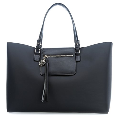 Tommy Hilfiger Love Tommy Reversible Borsa tote nero