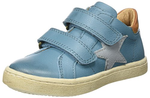 Bisgaard Klettschuhe - Zapatillas Unisex Niños Blau (600-3 Jeans)