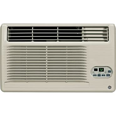 GE AJEM12DCF 11,800 BTU 230/208-Volt Through-the-Wall Air Conditioner with Heat and Remote