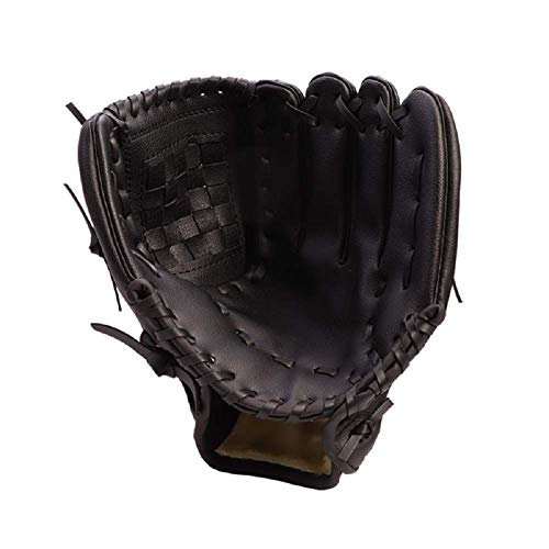 HAI+ Players Youth Tball/Baseball Glove Series, Fit for Beginner or Infielder,Left Hand Glove (Black, 11.5) (Best Baseball Glove For 9 Year Old)