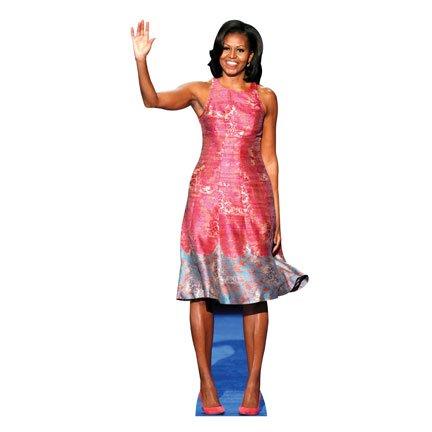HistoricalCutouts H25904 Michelle Obama 3 Cardboard Cutout Standup