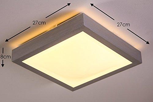 led lampe eckig glas pendelleuchte modern. Black Bedroom Furniture Sets. Home Design Ideas
