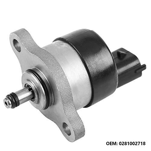 KIMISS Auto Rail Pressure Regulator, ABS + Aluminum Common Pressure Regulator Pressure Regulator OEM number: 0281002718: