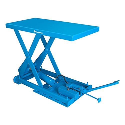 Bishamon X-30SP Compaclift X Series Scissor Lift Tables, Air-Hydraulic Operation/Double Scissors, 9'' Height by Bishamon (Image #1)