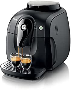 Philips 2000 series HD8650/09 - Cafetera (Independiente, Máquina espresso, 1 L, Molinillo integrado, 1400 W, Negro)