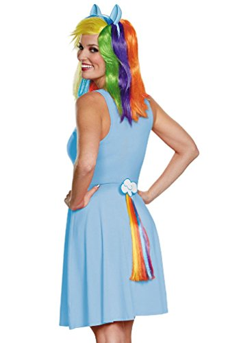 [8eighteen My Little Pony's Rainbow Dash Adult Tail] (My Little Pony Costume For Dogs)