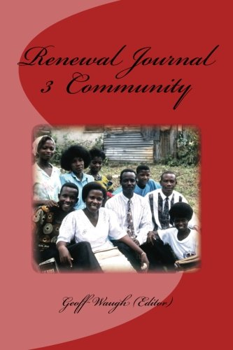 Read Online Renewal Journal 3: Community PDF