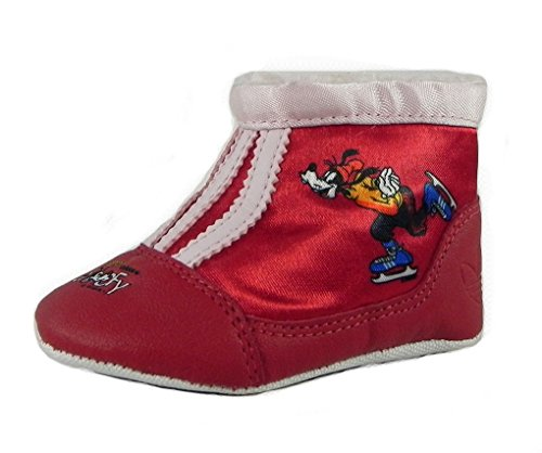 adidas Infant Originals Winter Hi Crib Sport Goofy Boot,Red/Pink/Red,1 M US -