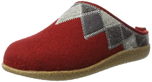 Unisex Rubin Rosso – Haflinger Blizzard Pantofole Adulto 211 Harly qgnnt1zF