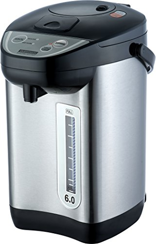 Euro Tech ET6010 6-Quart Hot Water Urn With Auto Dispenser With Shabbat Mode (Electric Hot Water Thermos compare prices)
