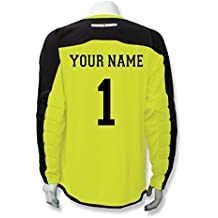 Code Four Athletics Diadora Enzo Goalkeeper Jersey Personalized with Your Name and Number