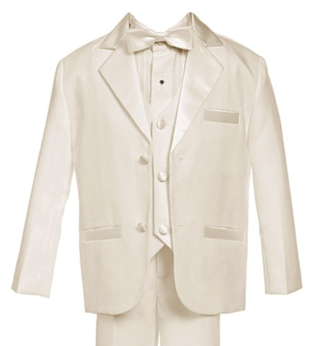 Gino Giovanni Usher Tuxedo Boy Ivory From Baby to Teen