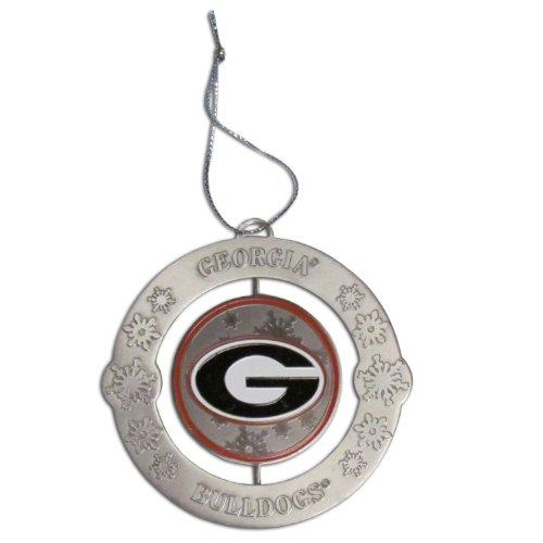 - NCAA Georgia Bulldgos Holiday Ornament