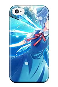 Case Cover Cirno Touhou Anime Other/ Fashionable Case For Iphone 4/4s