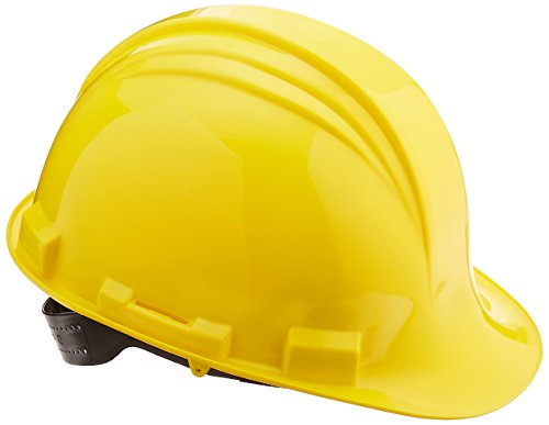 Honeywell A59020000 A59 The Peak Hard Hat, Pin Lock, 4-Point Plastic Suspension, Yellow