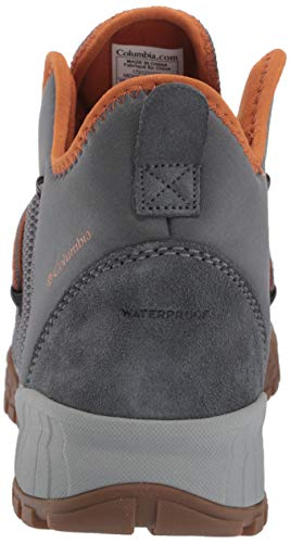 Bright Copper Para 503 Columbia Steel Hombre Botas ti Plisadas Fairbanks Gris Grey SwZqPvp