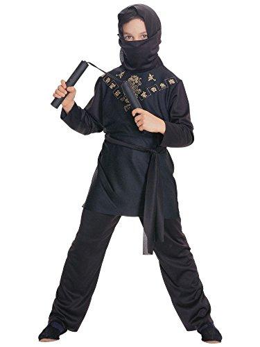Rubies Black Ninja Child Costume, -