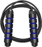 MyDear Cuerda para Saltar, Fácilmente Ajustable Manijas Cómodas, 300CM Cable, Rodamientos de Bolas de Acero Ergonómico y...