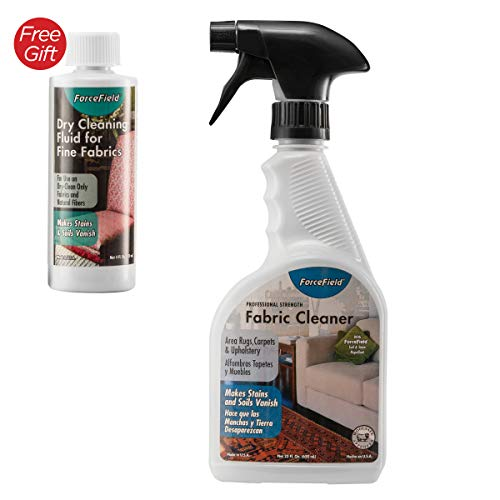 (ForceField - Fabric Cleaner - Remove, Protect, and Deep Clean, 22oz~WITH FREE GIFT~)