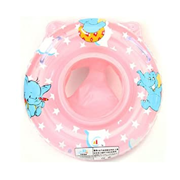 Amazon.com : KINGSO Baby Swimming Ring Armpits Ring Child Boat Double Thickening Pink : Baby
