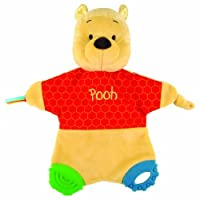 Classic Pooh Flat Blanky Teether