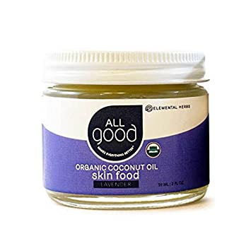 All Good Coconut Oil Skin Food - Lavender - 2oz