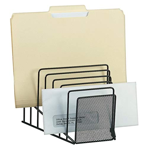Brenton Studio Metro Mesh Wire Step File, Black ()