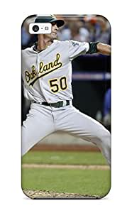 Hot oakland athletics MLB Sports & Colleges best iPhone 5c cases 6076373K164038897