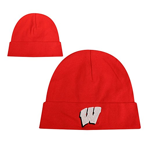 Wisconsin Badgers Official NCAA Infant Knit TOW Lil Cuff Beanie by Top of the World 944685 by Top of the World