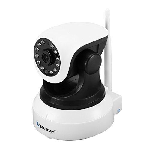 Cheap IP Camera, Vstarcam 720P WiFi Wireless CCTV Camera IR Security Surveillance Waterproof for Baby /Elder/ Pet White