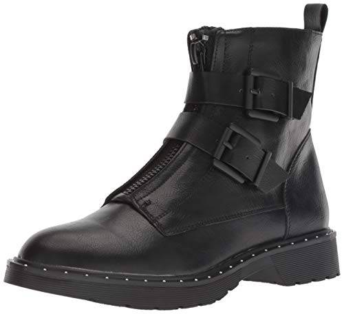 Dirty Laundry by Chinese Laundry Women's Joplin Motorcycle Boot, Black Smooth, 7.5 M US ()