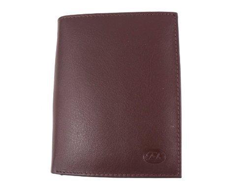 FORUM calidad de primera o cama de matrimonio para hombre marrón funda de cuero tipo libro completo de palos de con caja NO9022: Amazon.es: Ropa y ...