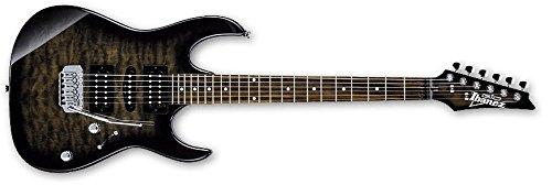 Ibanez Gio grx90 a-tks guitarra eléctrica, transparente negro colcha llama: Amazon.es: Instrumentos musicales