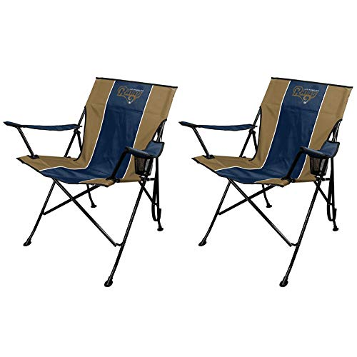 (Rawlings NFL TLG8 Chair (Los Angeles Rams) (2 Pack))