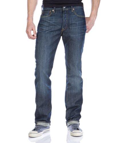 0007 501 Ground Jeans Hard Customized Uomo Tapered Blu Levis amp; fwZAqgw