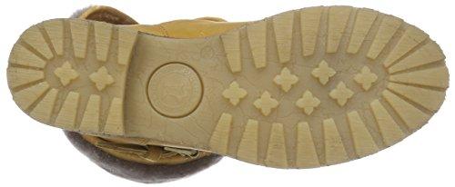 JACK Botas Piel Amarillo de Igloo Mujer de bajo Amarillo PANAMA Amarillo Caño Singapur B8 zIP6Wdq
