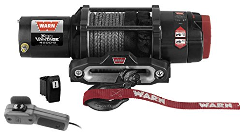 New Warn Provantage 4500 Lb Winch With Synthetic Rope