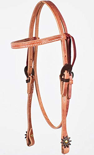 Amazon com : Horse Amish Western USA Hermann Oak Leather Headstall