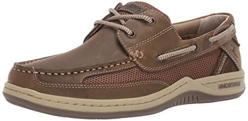 - Margaritaville Men's Anchor Lace Boat Shoe, Brown, 9.5 Wide