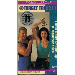 (Tony Little - Target Training - Total Body Shape-Up & Maintenance [VHS])