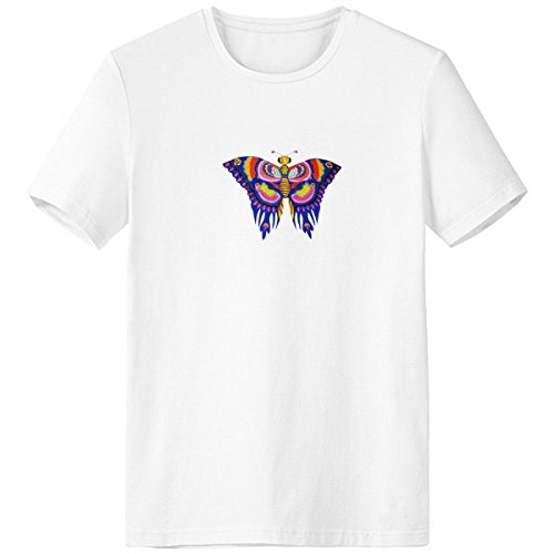 Kite Butterfly Clothing - DIYthinker Traditional Chinese Kite Butterfly Pattern Crew Neck White T-Shirt Short Sleeve Comfort Sports T-Shirts Gift