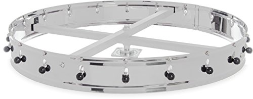 - Carlisle 3820CH Stainless Steel Ceiling Mount Order Wheel with 20 Clips, 23