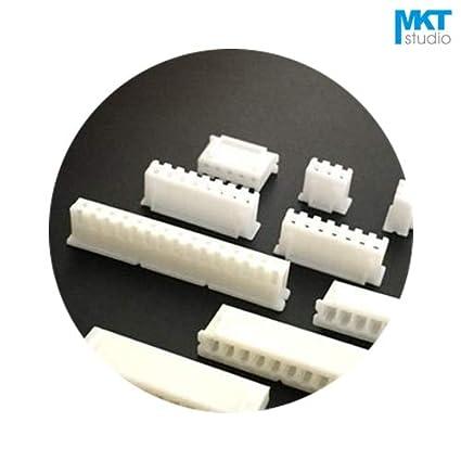Amazon.com: Davitu Connectors - 100Pcs XH 2.54mm Pitch XH2 ...