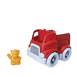 Fire Engine Toy by Eco Friendly Green Toys