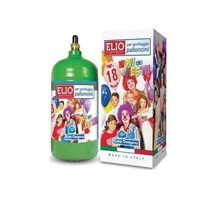 Bombona gas helio conglomerada para inflar 18 globos de látex fiesta party boda cumpleaños