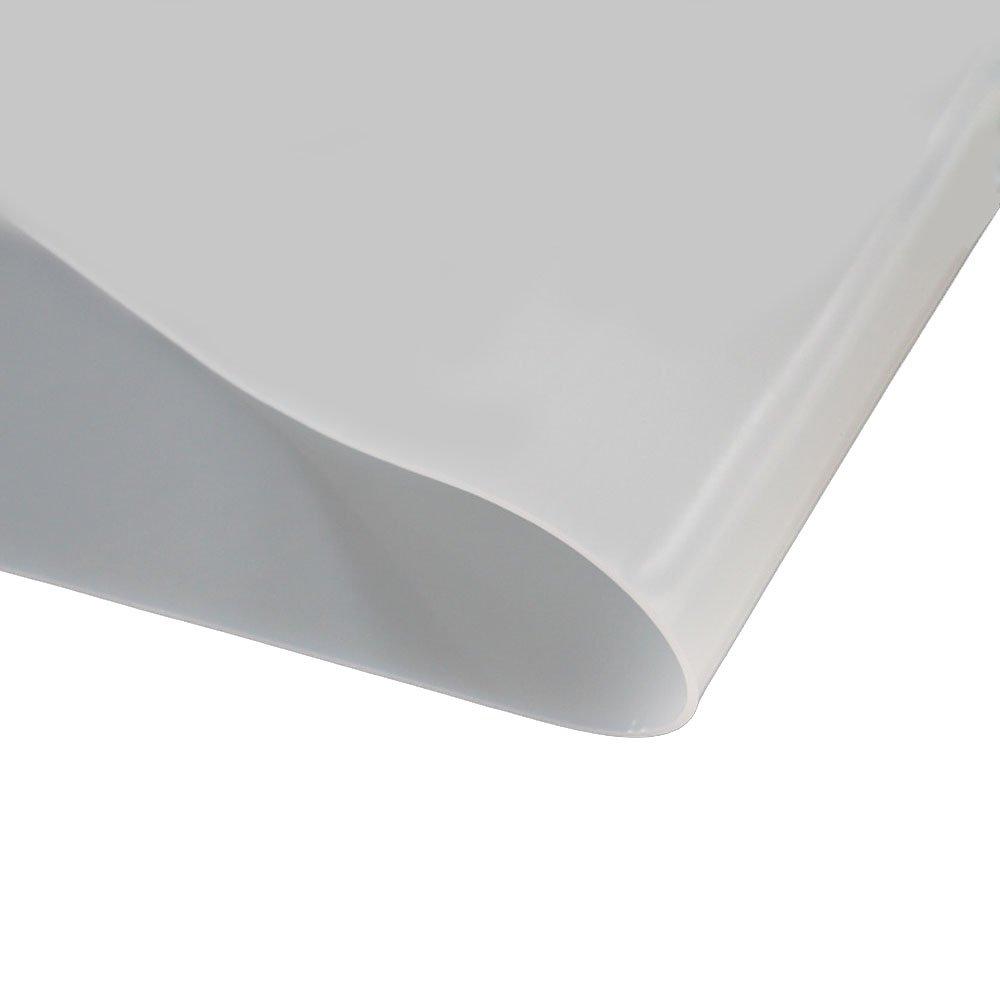 Wei/ß Silikon Tabelle 1,0 mm St/ärke hohe Temperatur 300x300mm