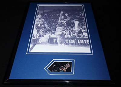 Jamal Mashburn Signed Framed 11x14 Photo Display Kentucky Wildcats