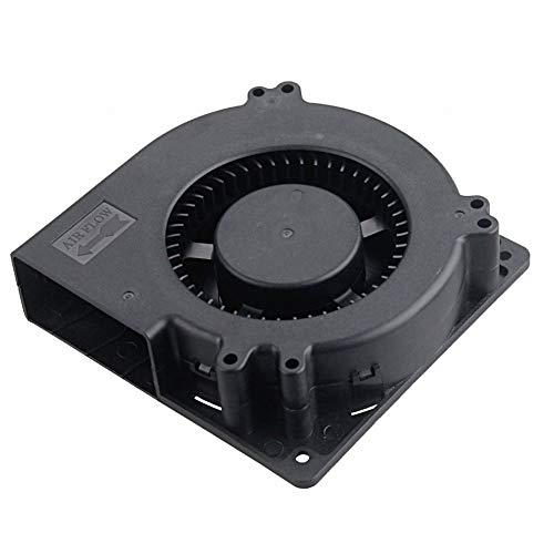 GDSTIME 5V DC Brushless Blower Cooling Fan, Dual Ball Bearings XH-2.5 Plug 120mm x 120mm x 32mm (4.72x4.72x1.26 inch)