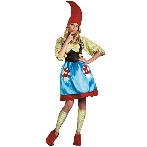 [Ms. Gnome Costume - Medium - Dress Size 8-10] (Adult Ms Gnome Costumes)